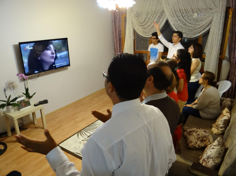 """IRAN'S 'SKYROCKETING SECRET CHURCH': Iran's """"underground"""" house church movement — the fastest growing church in the world — is being fueled by explosive social media use and satellite television viewership, according to Middle East satellite broadcaster SAT-7."""