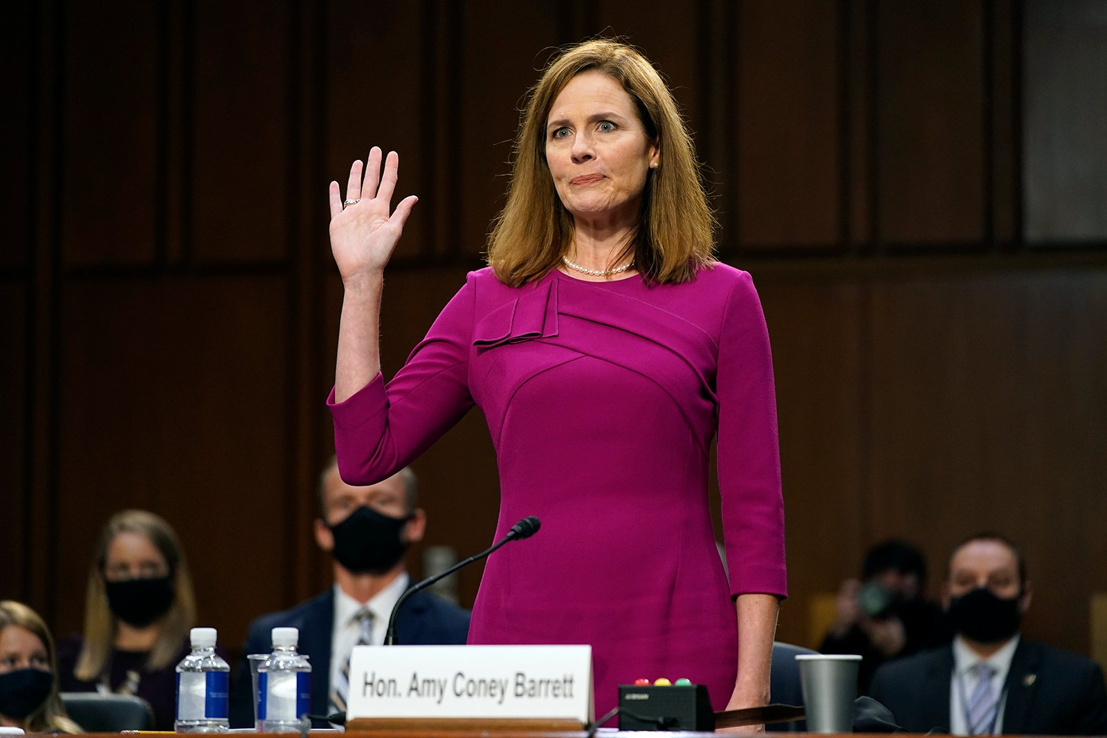 Amy Coney Barrett's religion isn't the problem. It's her record.
