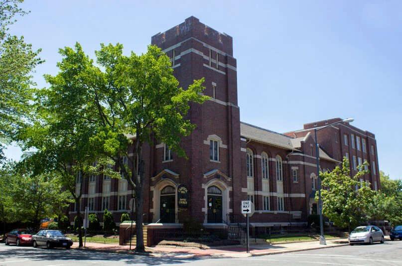 Capitol Hill Baptist Church in Washington, D.C. Photo by Dhousch/Creative Commons