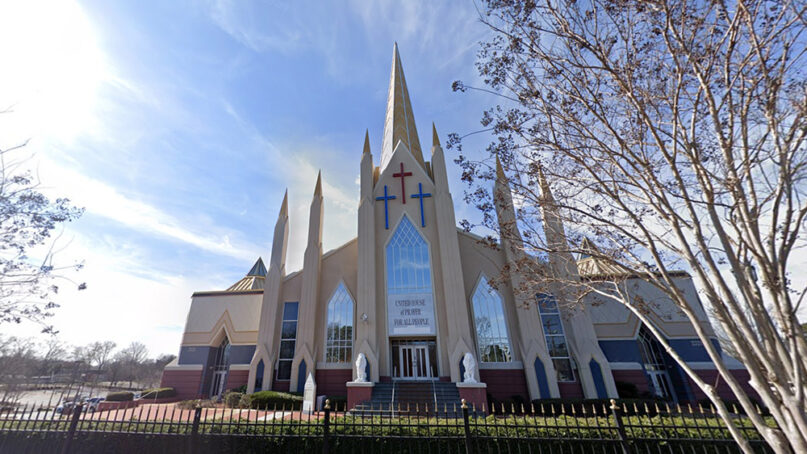 The United House of Prayer for All People in Charlotte, North Carolina. Photo courtesy of Google Maps