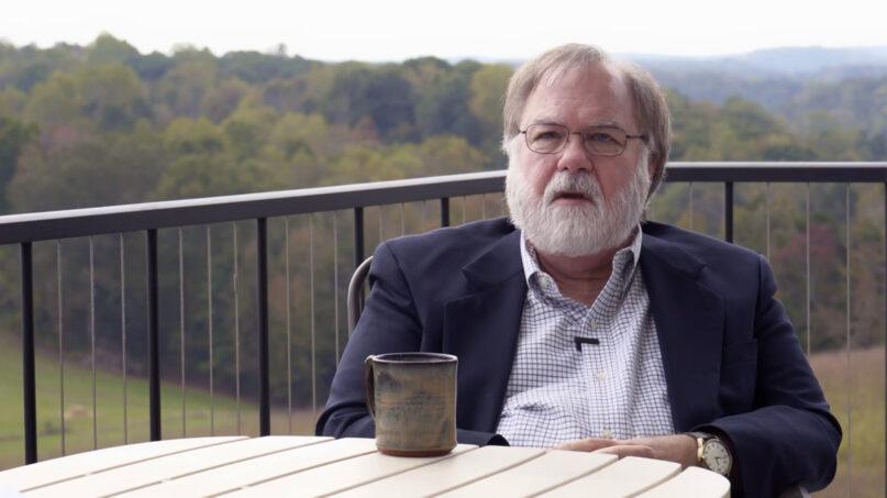 Peter Held speaks about his late daughter, Rachel Held Evans, in Tennessee. Video screengrab