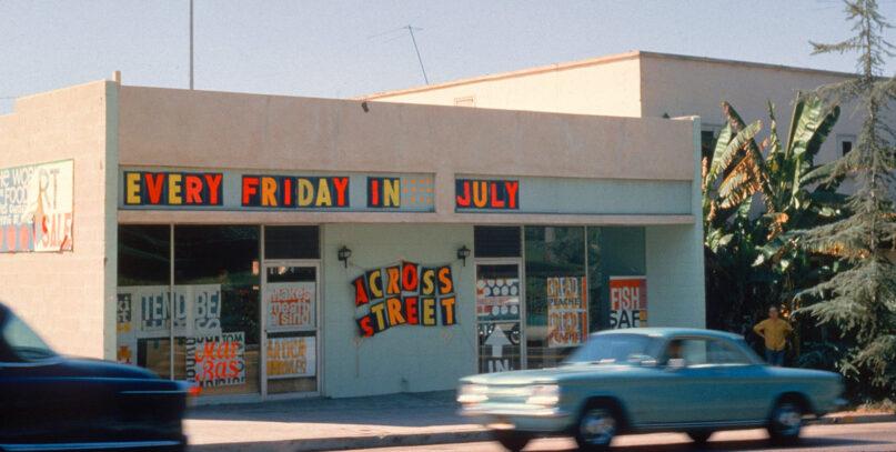 Artist Corita Kent's former Hollywood art studio on Franklin Avenue in Los Angeles. Photo courtesy of Corita Art Center/Immaculate Heart Community
