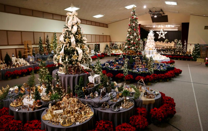 A wide variety of displays at the Community Festival of Nativities in Peoria, Illinois, in December 2017. Photo courtesy of Shelly Crespo