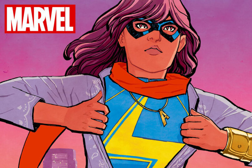 Some Ms. Marvel comic storylines have revealed her as a well-rounded character while others have advanced Islamophobic themes. (Image courtesy Marvel)