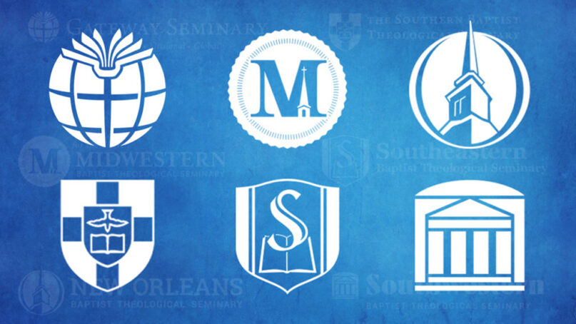 Logos of the six Southern Baptist Convention seminaries. Image courtesy of Baptist Press