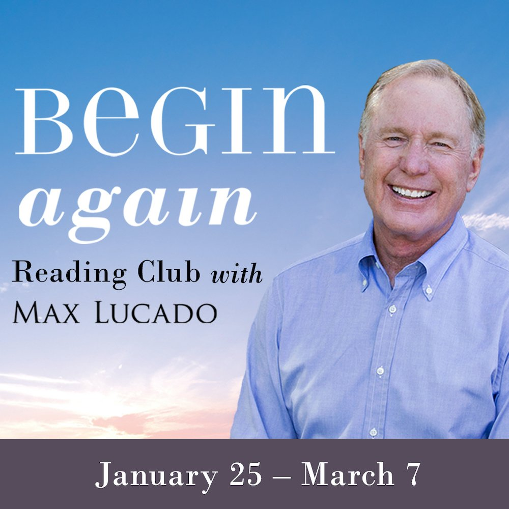 Bestselling author Max Lucado hosts first-ever online reading club starting January 25