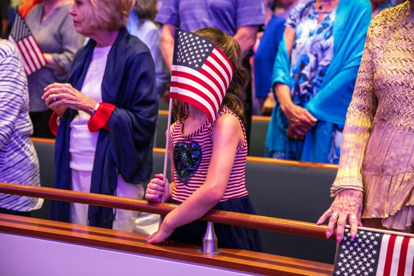 Not flagging, merely changing stripes. (Photo by Ilana Panich-Linsman for The Washington Post via Getty Images)