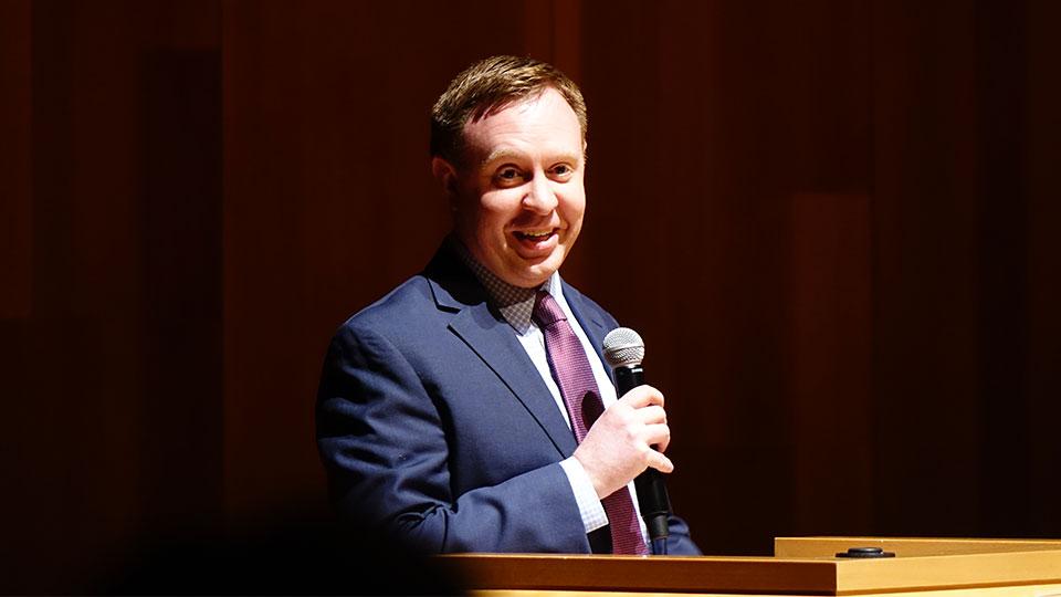 Author and historian Patrick Mason in 2019. Courtesy photo