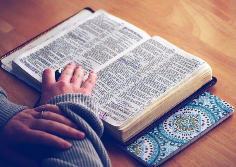 Source: Pixabay. https://pixabay.com/photos/book-bible-bible-study-open-bible-1209805/