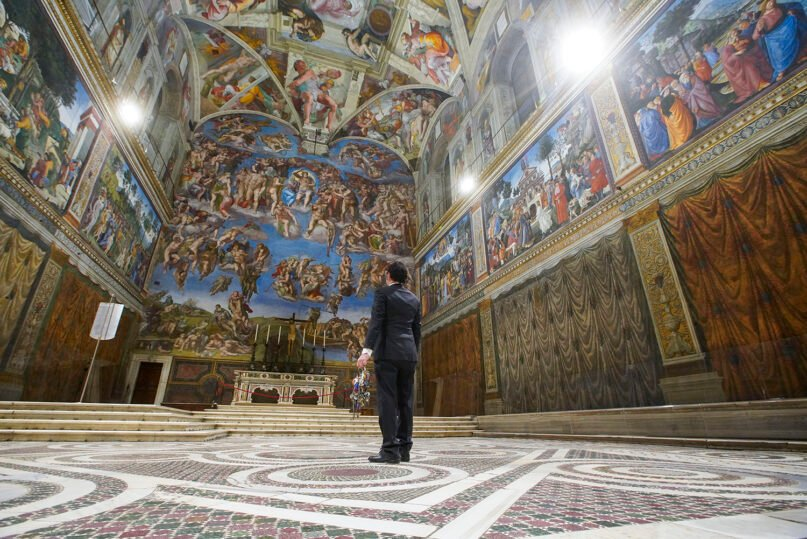 Gianni Crea, the Vatican Museums chief
