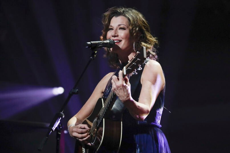 Amy Grant performs during the Dove Awards on Tuesday, Oct. 15, 2019, in Nashville, Tenn. (AP Photo/Mark Humphrey)