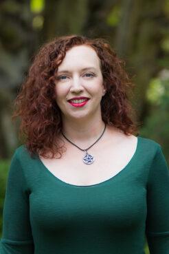 "Courtney Weber, author of ""Brigid: History, Mystery, and Magick of the Celtic Goddess."" Courtesy photo"