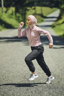 Noor Alexandra Abukaram poses in July 2020. Photo courtesy of Haute Hijab