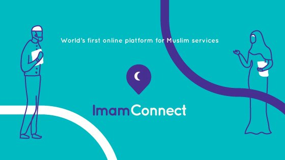 Imam Connect is the first platform of its kind for online Muslim services. Courtesy image
