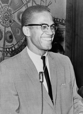 Malcolm X on March 12, 1964. Photo by Ed Ford/LOC/Creative Commons