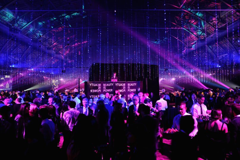 The Jewish Museum's Purim Ball at the Park Avenue Armory in 2015 in New York City. (Photo by Andrew Toth/Getty Images)
