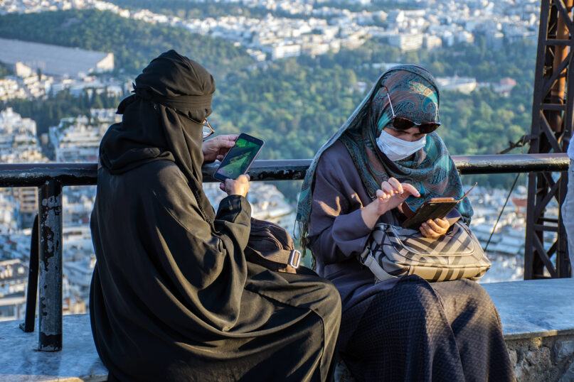 Muslim women say they are having an easier time wearing the niqab during pandemic times. Photo by hjrivas/Pixabay/Creative Commons