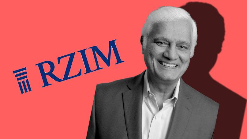 Christian apologist Ravi Zacharias died in 2020. RNS photo illustration by Kit Doyle