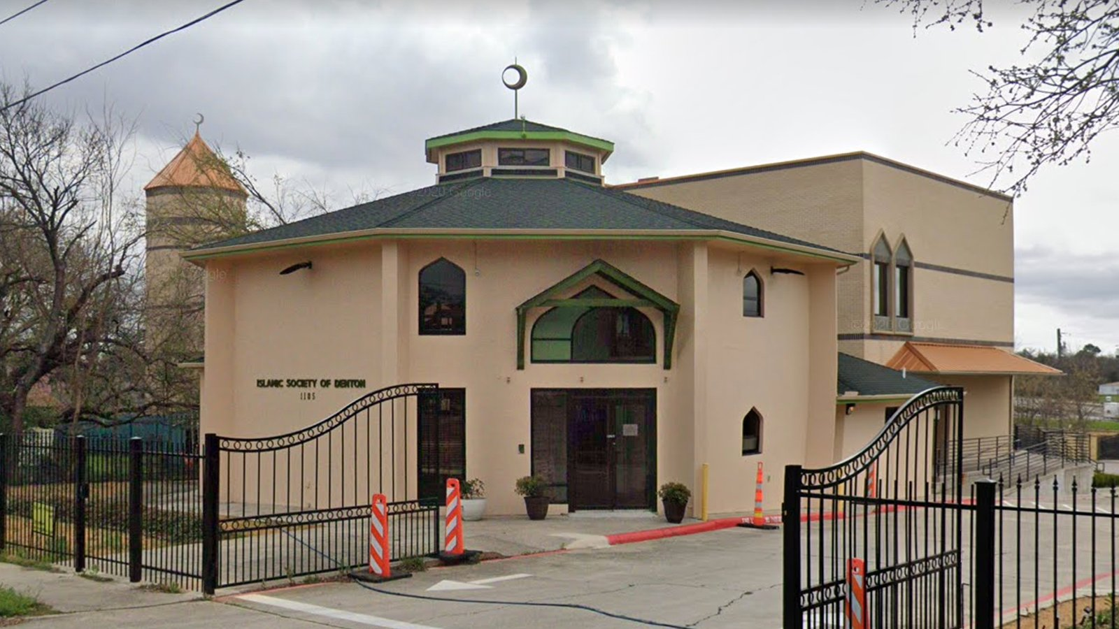 The Islamic Society of Denton recently experienced major water damage due to severe winter weather in Denton, Texas. Photo courtesy of Google Maps