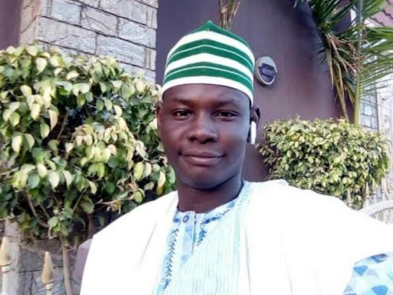 Yahaya Sharif-Aminu has been sentenced to death by a Shariah court in northern Nigeria. Photo via Twitter