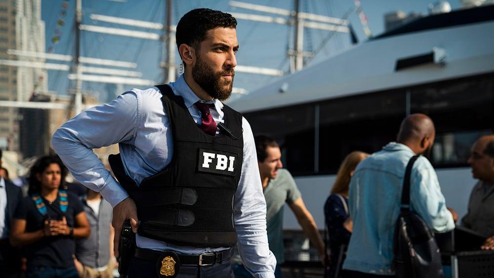 "Actor Zeeko Zaki plays OA Zidan in the CBS show ""FBI."" Photo by Michael Parmelee/©2018 CBS Broadcasting, Inc."