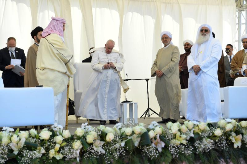 At ancient city of Ur, Pope Francis makes heartfelt appeal for fraternity of faiths