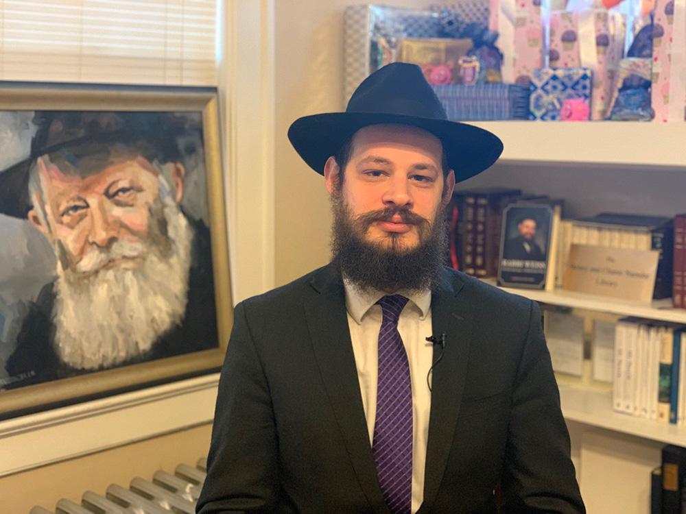 Rabbi Shlomo Litvin leads the Chabad of the Bluegrass in Lexington, Kentucky. Photo courtesy of Rabbi Shlomo Litvin