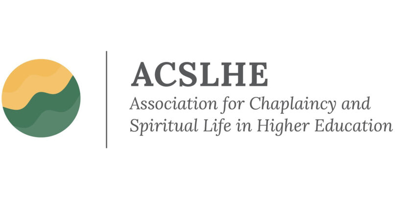 The Association for Chaplaincy and Spiritual Life in Higher Education. Courtesy image