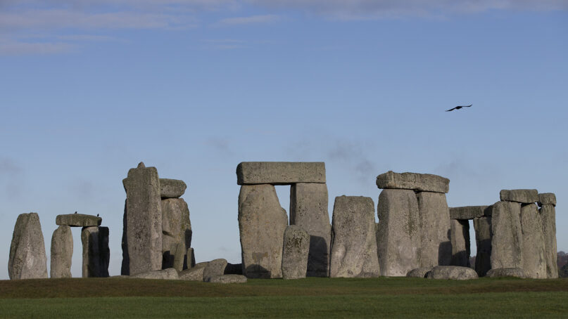 The World Heritage Site of Stonehenge, in Wiltshire, England, in 2013. (AP Photo/Alastair Grant, File)