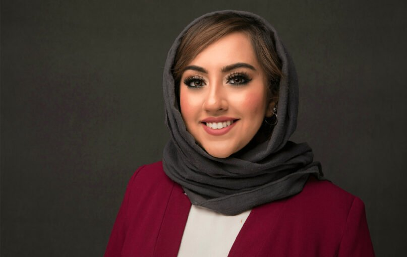 Bushra Amiwala is the youngest elected Muslim official in the United States. Courtesy photo