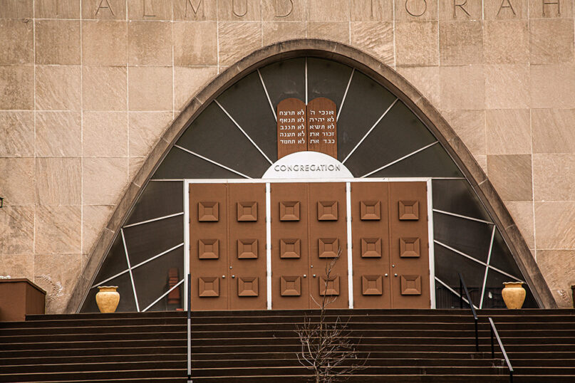 Ohev Shalom – The National Synagogue, 1600 Jonquil Street. © Joel Hoffman, courtesy DC History Center
