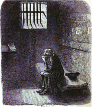 """The character, Fagin, from """"Oliver Twist"""" (1838) by Charles Dickens. Image courtesy of Creative Commons"""