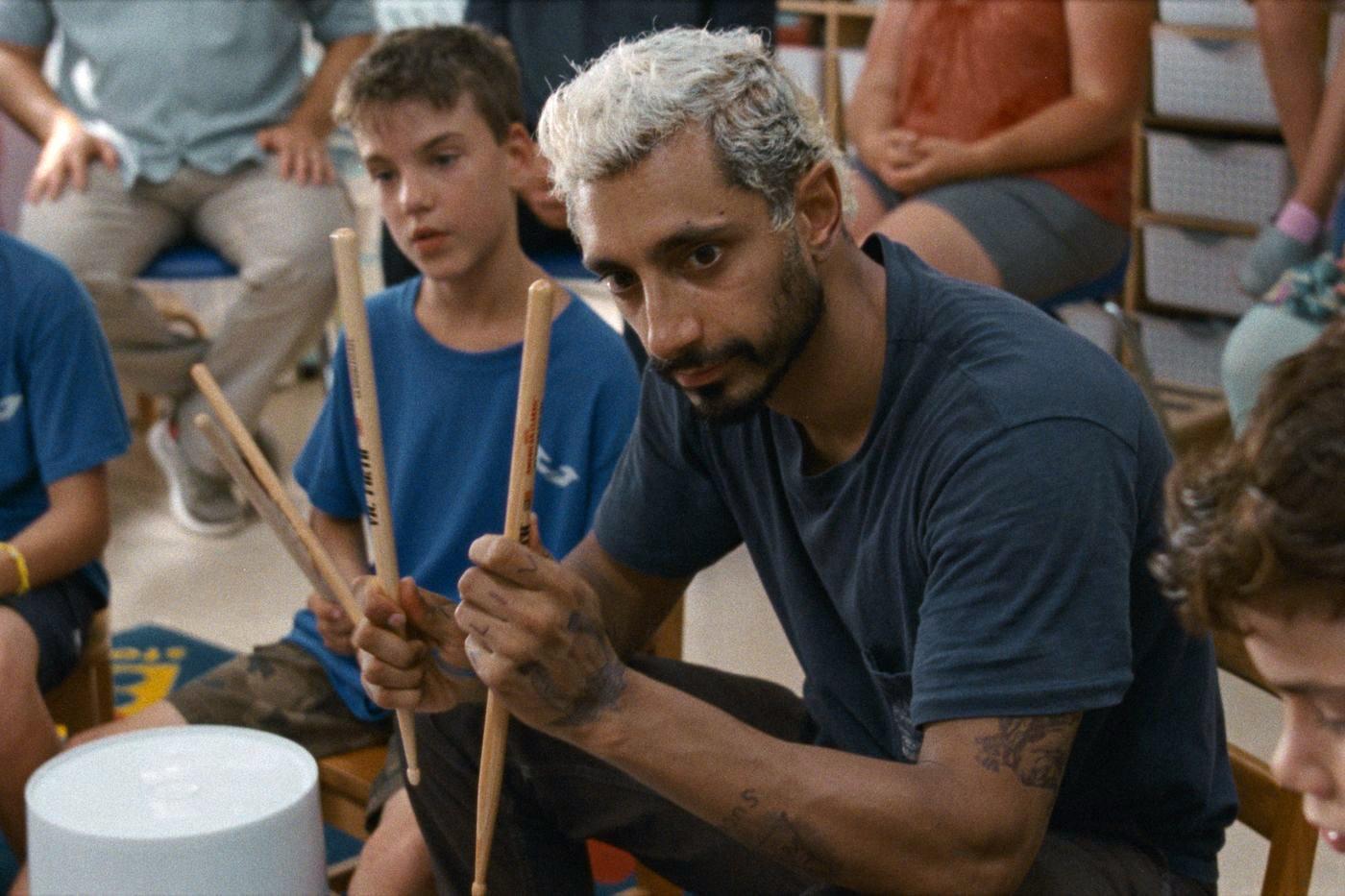 "Riz Ahmed in ""Sound of Metal."" Photo courtesy of Amazon Studios"