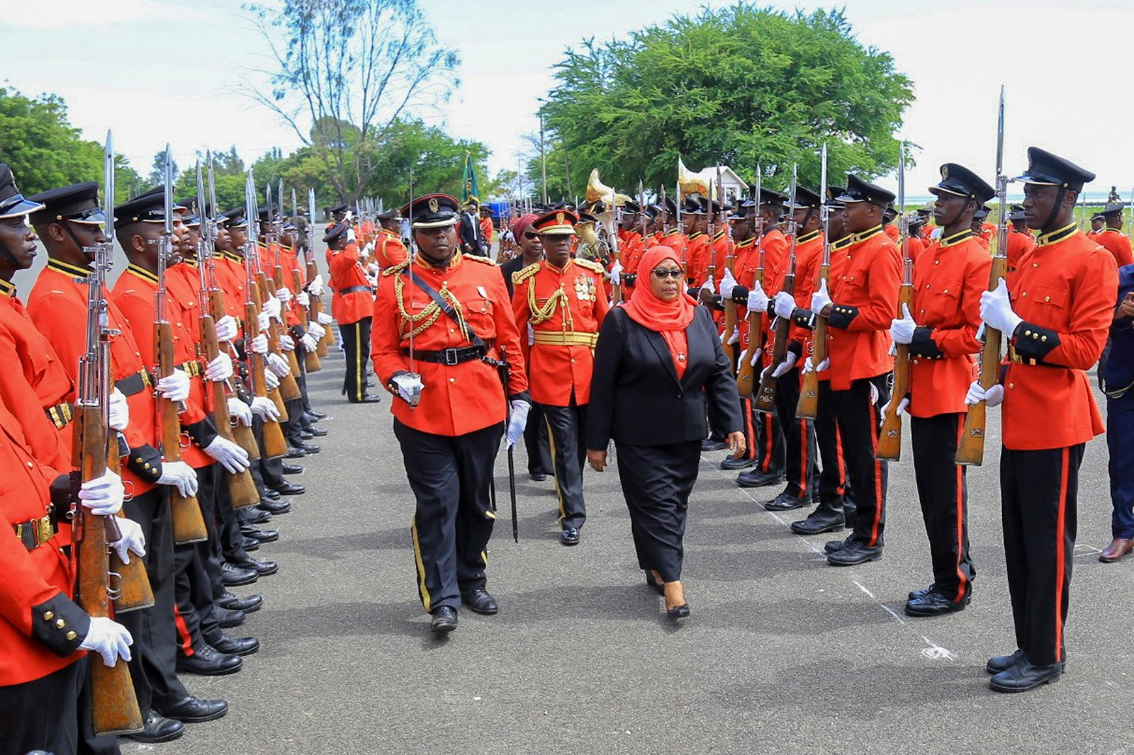 Tanzania's first female president takes office, breaking new ground for women in hijab