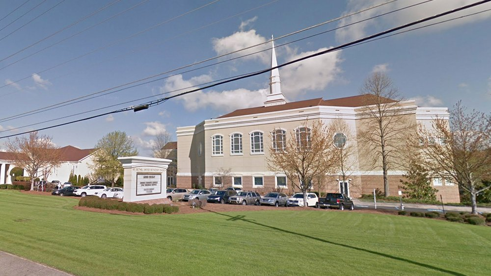Mt. Bethel United Methodist Church in Marietta, Georgia. Photo via Google Maps