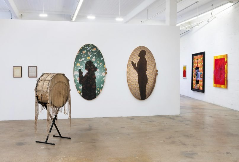 """""""Otherwise/Revival,""""  an exhibit through Bridge Projects, is a group exhibition exploring the Black church's influence on contemporary artists. The exhibition includes everything from paintings to sculptures to performances that celebrate elements like community and praise. Image courtesy of Robert Wedemeyer"""
