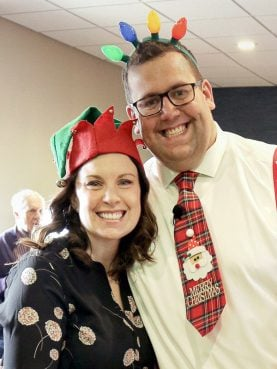 Cassie and Stephen Quist of St. John's Lutheran Church in Elkhorn, Wisconsin. Courtesy photo