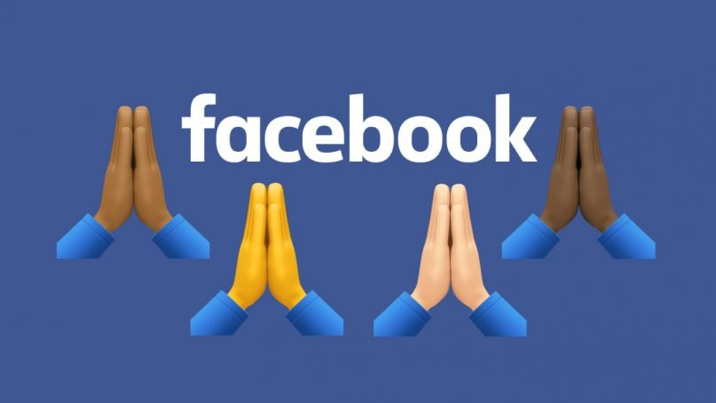 Facebook is currently testing a new prayer post feature. Illustration by Kit Doyle