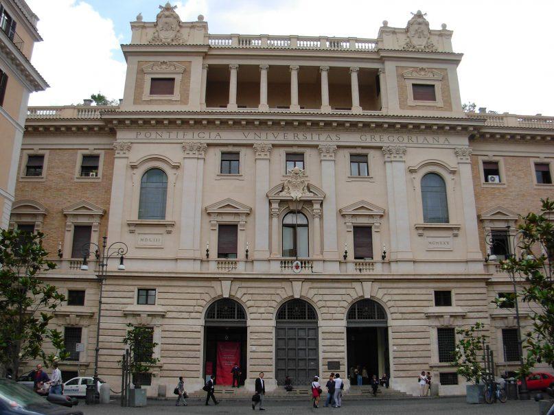 Pontifical Gregorian University in Rome. Photo by Samstudij/Creative Commons