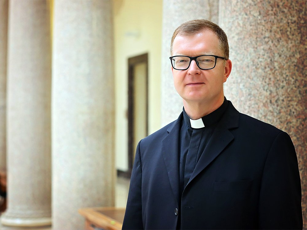 Father Hans Zollner. Photo courtesy of the Centre for Child Protection at the Gregorian University in Rome