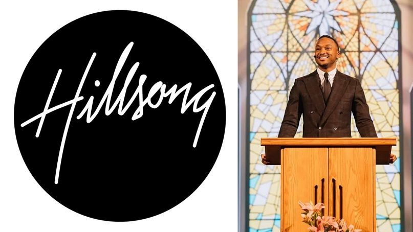 Pastor Darnell Barrett resigned from Hillsong's Montclair, New Jersey, campus after sharing explicit photos of himself on Instagram. Images courtesy of Hillsong