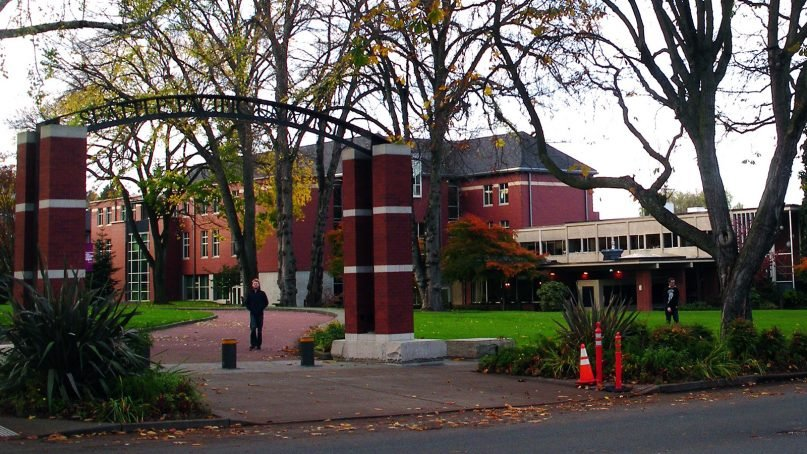 The campus of Seattle Pacific University in Seattle. Photo by Matthew Rutledge/Creative Commons