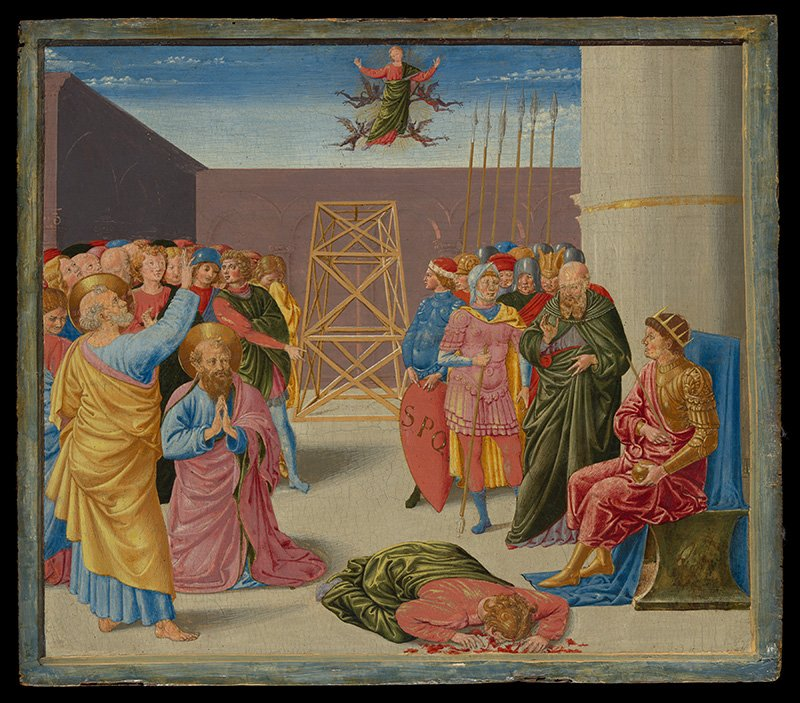In early Christian stories, the magician Simon uses magic immorally to try and gain power and influence. Image courtesy The Metropolitan Museum of Art