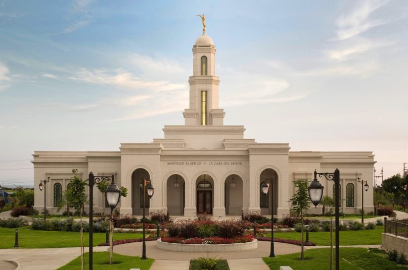 The LDS temple in Trujillo, Peru, was dedicated in 2015. Photo ©2015 by Intellectual Reserve, Inc. All rights reserved.