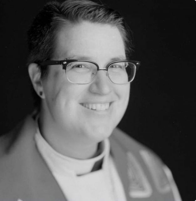 Bishop-elect Megan Rohrer of the Sierra Pacific synod of the Evangelical Lutheran Church of America. Via Facebook.