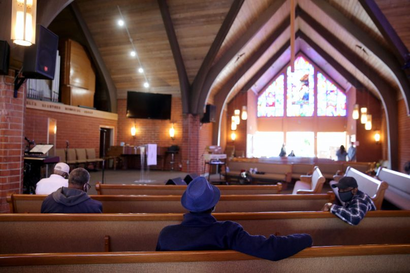 Church closures were among the most contested measures in the fight against COVID-19. (Mario Tama/Getty Images)