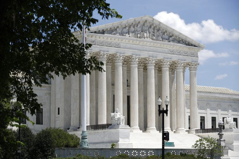 In this June 29, 2020, file photo, the Supreme Court is seen on Capitol Hill in Washington. (AP Photo/Patrick Semansky)