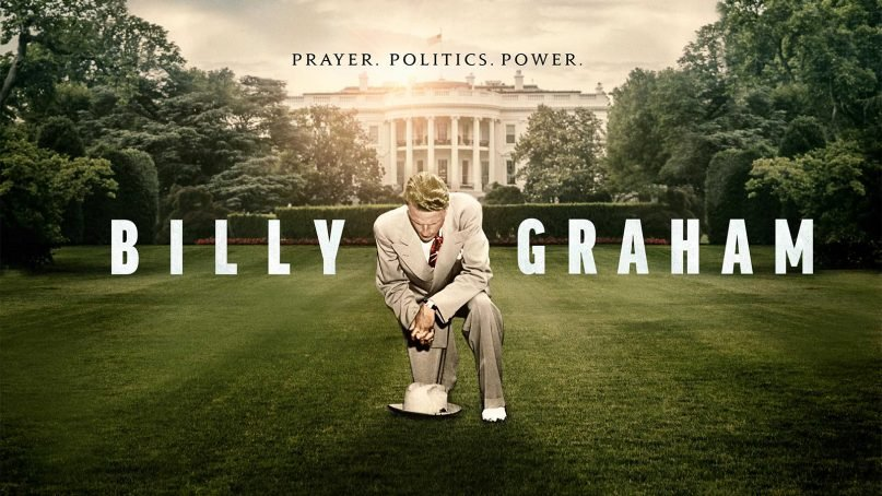 Poster for the PBS' 'American Experience' Billy Graham documentary. Courtesy image