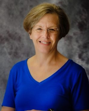 Denise Makinson, director of worship and music ministries at Southwood Lutheran Church. Photo courtesy of Makinson