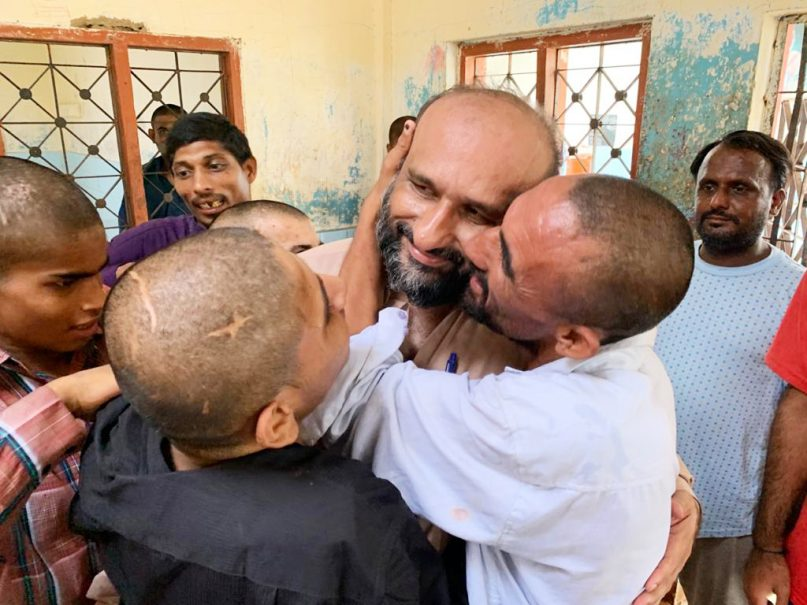 Children at the Edhi home, run by Fasial Edhi, chairman of the Edhi Foundation in Karachi, Pakistan. According to the Edhi Foundation's website, they have created 18 homes across Pakistan to care for roughly 8,500 people.Photo courtesy of the Edhi Foundation
